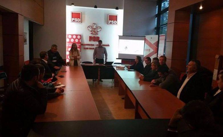 "Training  ""Aleși locali PSD la primul mandat"" – MARAMUREȘ"