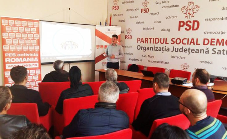 "Training  ""Aleși locali PSD la primul mandat"" – SATU MARE"