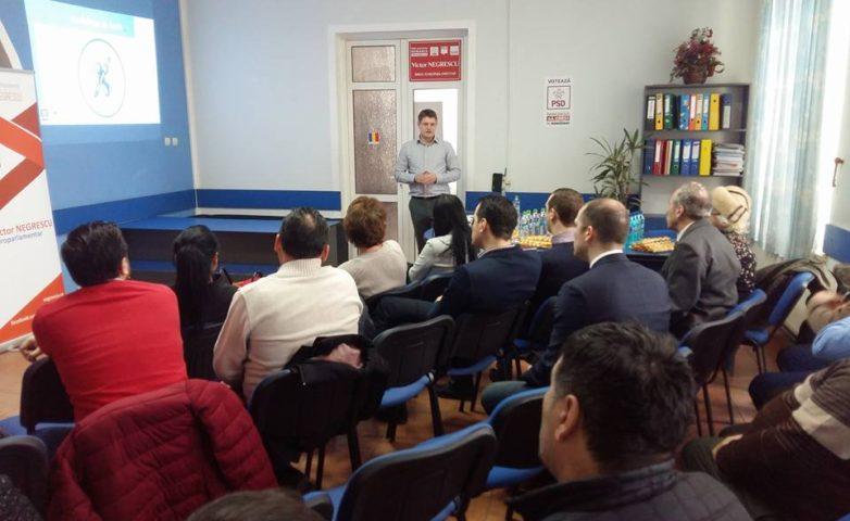 "Botoșani – Training ""Aleși locali PSD la primul mandat"""
