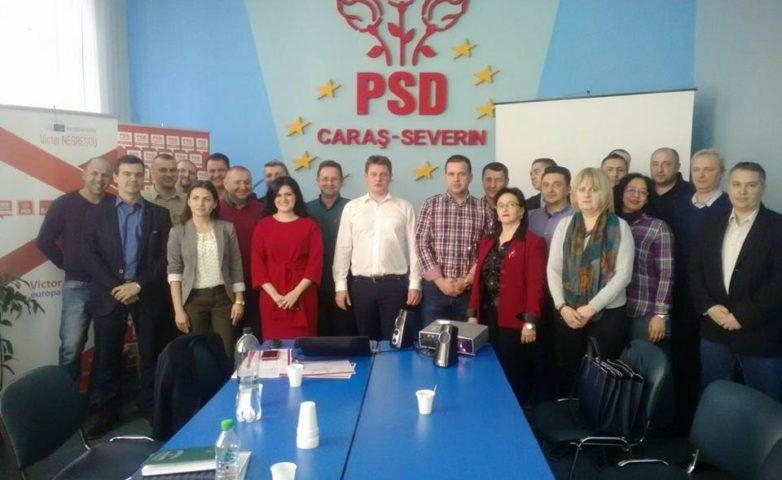 """Caraș Severin – TRAINING """"Aleși locali PSD la primul mandat"""""""