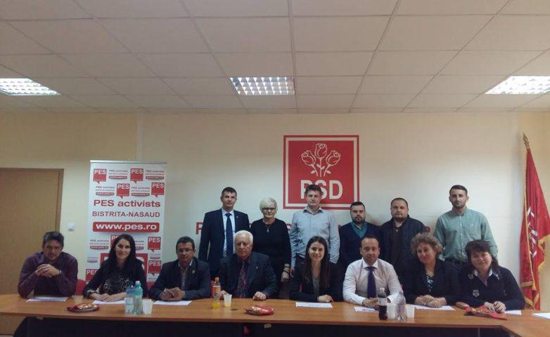 """Bistrița – Năsăud – """"Aleși locali PSD la primul mandat"""""""