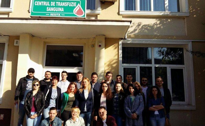 PSD-iştii au donat sânge fără culoare politică, la Reşiţa