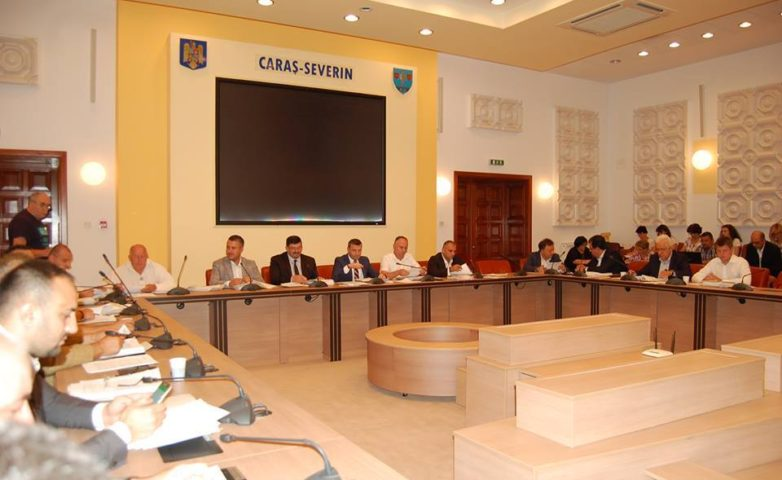 Ședință ordinară a Consiliului Județean Caraş Severin