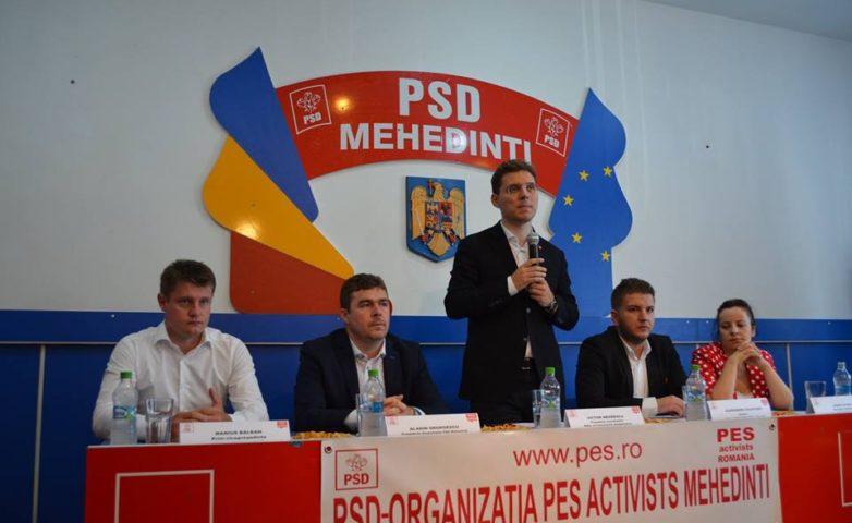 Conferința de alegeri PES Activists Mehedinți