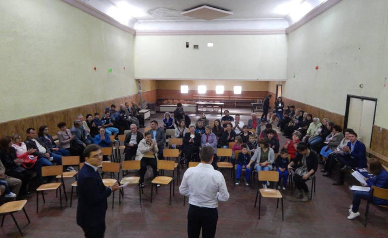 Văliug – Întâlnire cu alegătorii