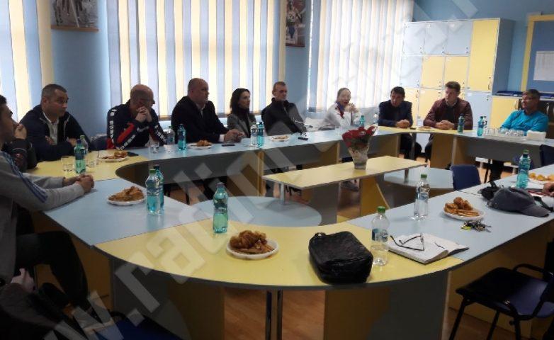Lotul Olimpic de gimnastică și-a început activitatea la Reșița!
