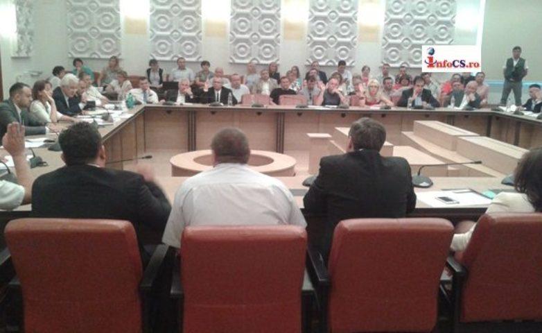 Mocioalcă, Vela si Schelean și-au dat demisia din Consiliul Județean, ședință ordinară cu 51 de puncte