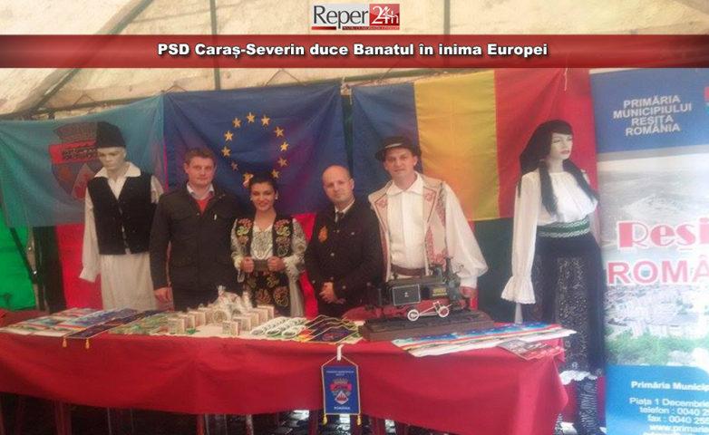 PSD Caraș-Severin duce Banatul în inima Europei