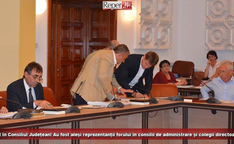 Vot în Consiliul Județean! Au fost aleși reprezentanții forului în consilii de administrare și colegii directoare!