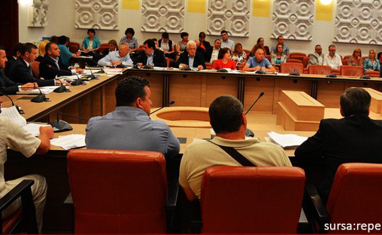 Sedință extraordinară Consiliul Județean Caraș-Severin